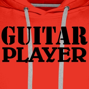 Guitar Player T-shirts - Premiumluvtröja herr