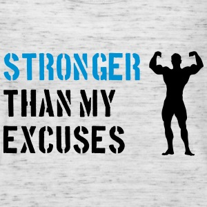 Stronger Than My Excuses Bluzy - Tank top damski Bella