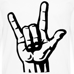The Hand Of Rock T-Shirts - Men's Premium Longsleeve Shirt