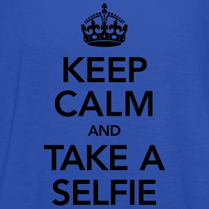 Keep Calm And Take A Selfie Tee shirts - Débardeur Femme marque Bella