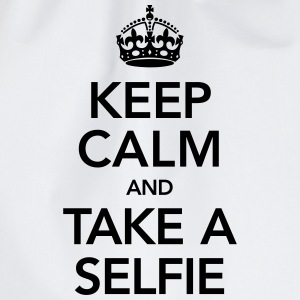 Keep Calm And Take A Selfie Tee shirts - Sac de sport léger