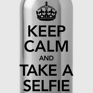 Keep Calm And Take A Selfie Magliette - Borraccia