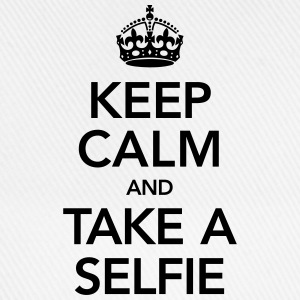 Keep Calm And Take A Selfie T-skjorter - Baseballcap