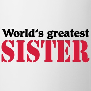 World's greatest Sister Maglie a manica lunga - Tazza