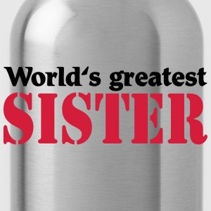 World's greatest Sister Bluzy - Bidon