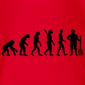 Evolution Bauer T-Shirts - Baby Bio-Kurzarm-Body