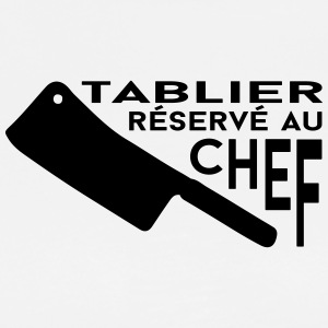 reserve chef Tabliers - T-shirt Premium Homme