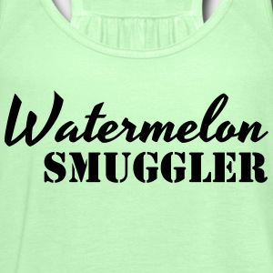 Watermelon Smuggler T-Shirts - Women's Tank Top by Bella