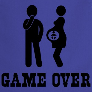 Game Over Pregnancy T-Shirts - Cooking Apron