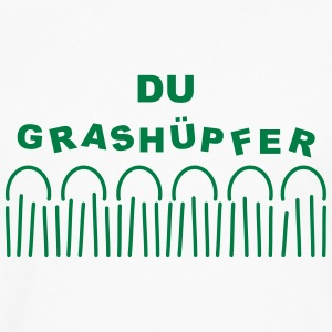 Grass - Du Grashüpfer Shirts - Men's Premium Longsleeve Shirt