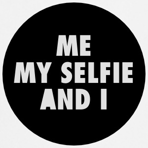 Me My Selfie And I T-shirts - Forklæde