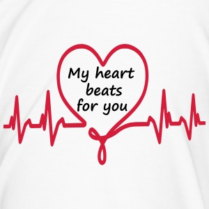 My heart beats for you - Männer Premium T-Shirt