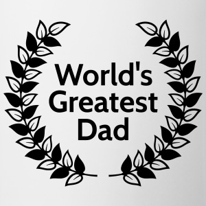Greatest Dad största pappa T-shirts - Mugg
