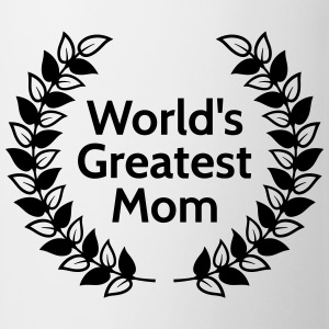 Greatest Mom største mor T-shirts - Kop/krus