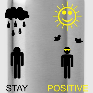 stay positive T-Shirts - Water Bottle