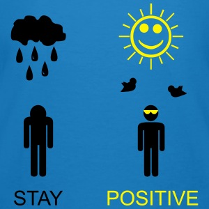 stay positive Bag - Men's Organic T-shirt