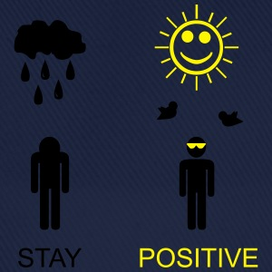 stay positive Tops - Basebollkeps