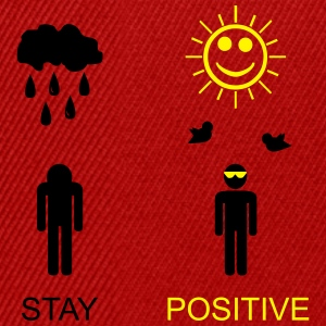 stay positive  - Snapback-caps