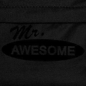 mr. awesome T-Shirts - Kinder Rucksack