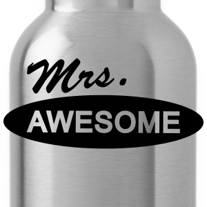 mrs. awesome T-Shirts - Trinkflasche