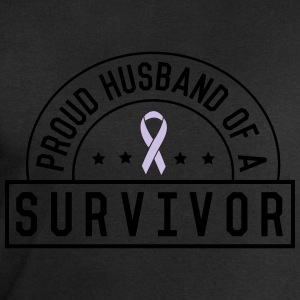 Proud Husband of a Survivor T-Shirts - Men's Sweatshirt by Stanley & Stella