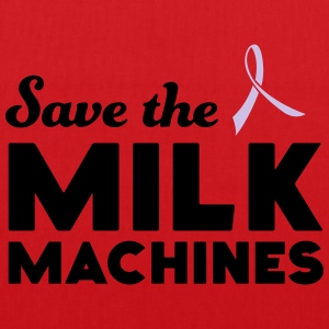 Save the Milk Machines T-Shirts - Tote Bag