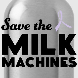 Save the Milk Machines T-Shirts - Water Bottle