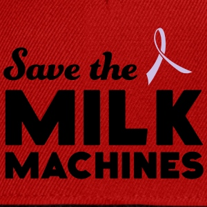 Save the Milk Machines T-Shirts - Snapback Cap