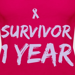Survivor - 1 Year T-Shirts - Women's Premium Tank Top