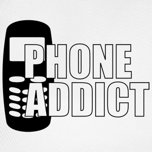 Phone Addict T-shirts - Basebollkeps
