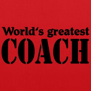 World's greatest Coach T-Shirts - Tote Bag