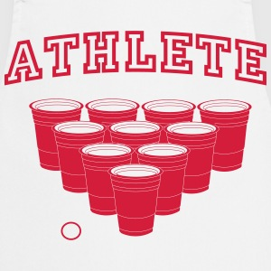 Beer Pong Athlete T-Shirts - Cooking Apron