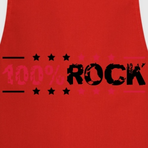 Cooler 100% Rock Stempel Style T-Shirts - Cooking Apron