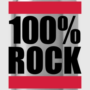 100% rock ontwerp T-shirts - Drinkfles