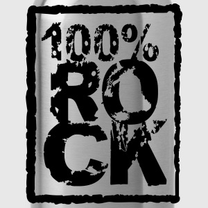 100 % rock Stempel Style Tee shirts - Gourde