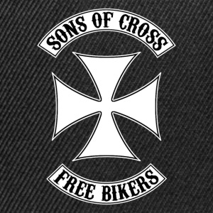 sons of cross free bikers T-Shirts - Snapback Cap