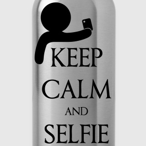 Keep calm and Selfie Magliette - Borraccia