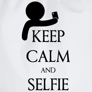 Keep calm and Selfie Camisetas - Mochila saco