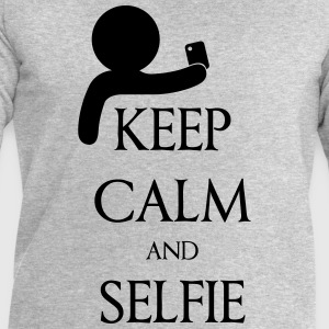 Keep calm and Selfie Camisetas - Sudadera hombre de Stanley & Stella