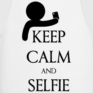Keep calm and Selfie T-skjorter - Kokkeforkle