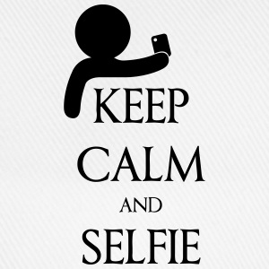 Keep calm and Selfie T-shirts - Basebollkeps