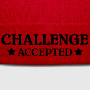 Challenge accepted T-Shirts - Wintermütze