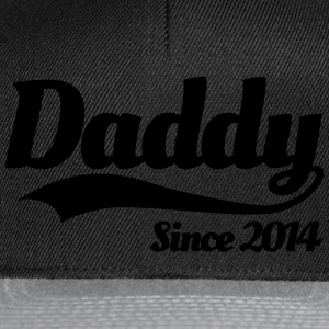 Daddy Since 2014 Pullover & Hoodies - Snapback Cap