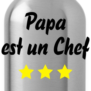 papa chef 3 etoiles Tabliers - Gourde