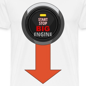 start stop engine 01 Tee shirts manches longues - T-shirt Premium Homme