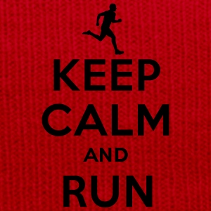 Keep calm and run T-Shirts - Winter Hat