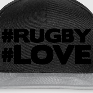 #RUGBY #LOVE T-Shirts - Snapback Cap