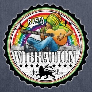rasta vibration Sweat-shirts - Sac bandoulière 100 % recyclé