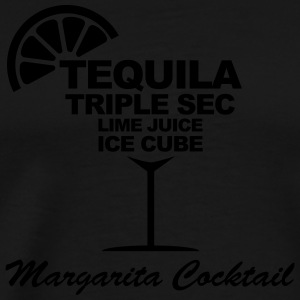 Margarita cocktail Sweat-shirts - T-shirt Premium Homme