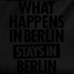 What Happens In Berlin Stays In Berlin T-shirts - Ryggsäck för barn